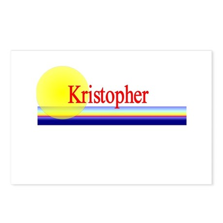 Kristopher Postcards (Package of 8)