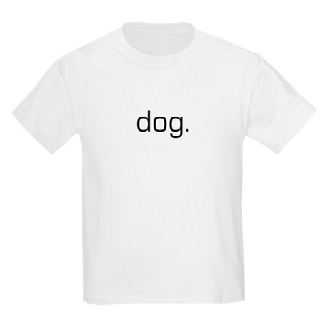 Dog logo Kids T-Shirt