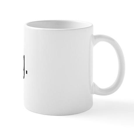 Dog logo Mug