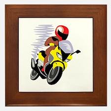 Bike Framed Tile