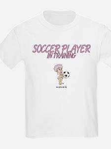 Soccer Player Kids T-Shirt