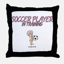 Soccer Player Kids Decorative Throw Pillow