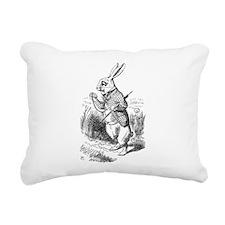 Rabbit Rectangular Canvas Pillow