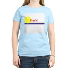 Krystal Women's Pink T-Shirt