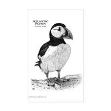 Atlantic Puffin Rectangle Decal
