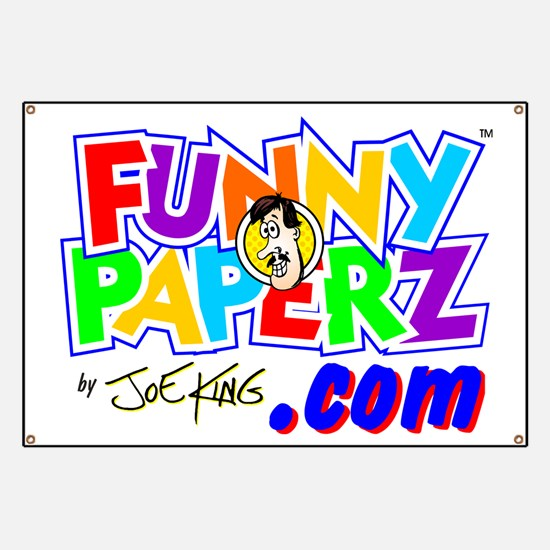 """""""FUNNY PAPERZ"""" Banner"""