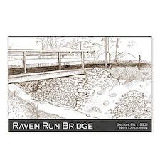 Raven Run Bridge Postcards (Package of 8)