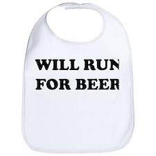 Will Run For Beer Bib