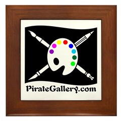 """""""THE PIRATE GALLERY"""" Framed Tile"""