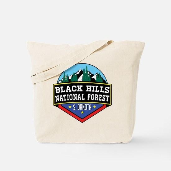 Cute Black hills Tote Bag
