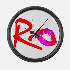 """""""RIO"""" Large Wall Clock"""