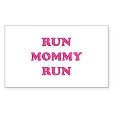 Run Mommy Run Decal