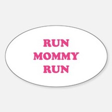 Run Mommy Run Decal