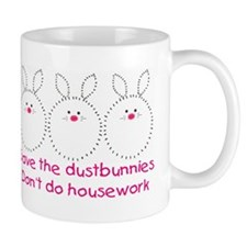 Save the dustbunnies Mug