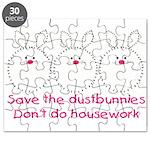 Save the dustbunnies Puzzle