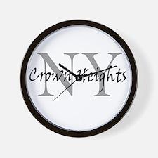 Crown Heights Wall Clock