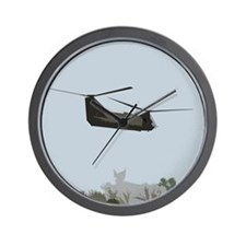 CH-47 Chinook Helicopter Wall Clock