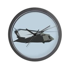 UH-60 Black Hawk Helicopter Wall Clock