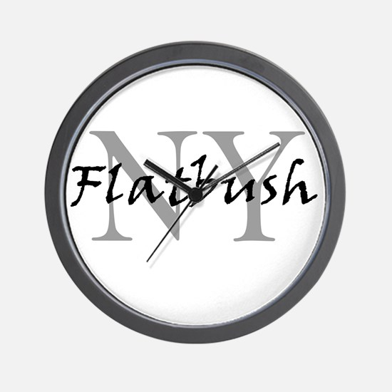 Flatbush Wall Clock