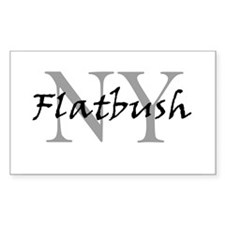 Flatbush Rectangle Decal