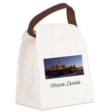 skyline2.png Canvas Lunch Bag