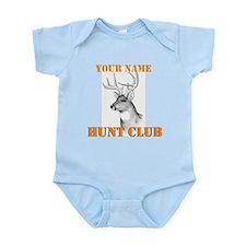 Custom Hunt Club Infant Bodysuit