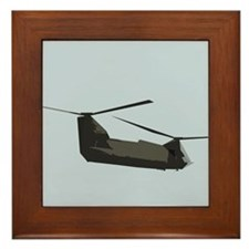 CH-47 Chinook Helicopter Framed Tile