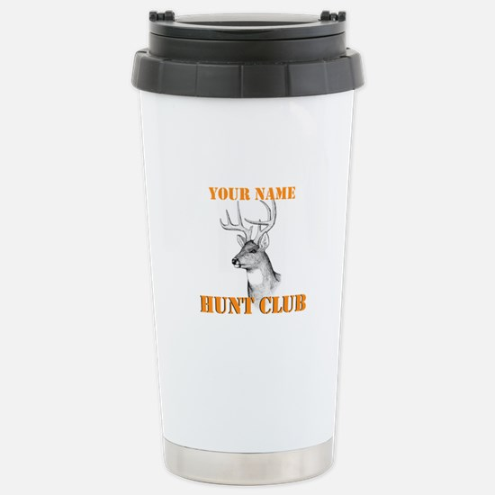 Custom Hunt Club Stainless Steel Travel Mug