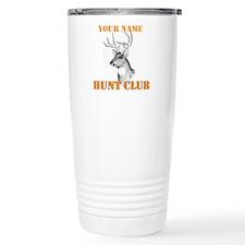 Custom Hunt Club Travel Coffee Mug