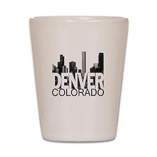 Denver Skyline Shot Glass