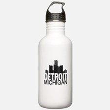 Detroit Skyline Water Bottle