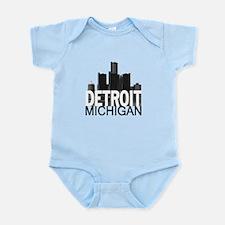 Detroit Skyline Infant Bodysuit