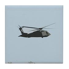 UH-60 Black Hawk Helicopter Tile Coaster