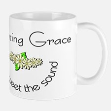 Amazing grace with flowers Mug