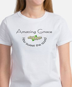 Amazing grace with flowers Tee