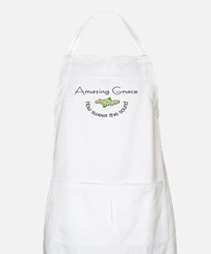 Amazing grace with flowers Apron