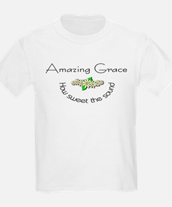 Amazing grace with flowers T-Shirt
