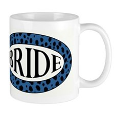 BLUE CHEETAH BRIDE Mug
