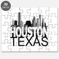 Houston Skyline Puzzle