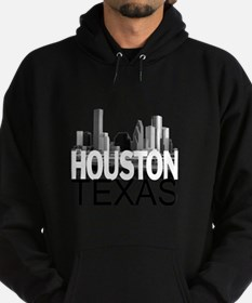 Houston Skyline Hoodie (dark)