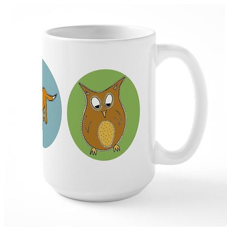 Woodland creatures Large Mug