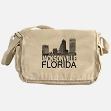 Jacksonville Skyline Messenger Bag
