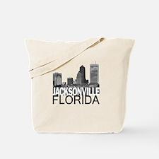 Jacksonville Skyline Tote Bag