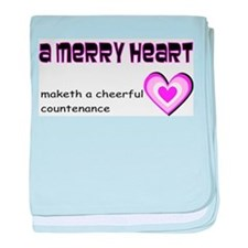 A merry heart baby blanket