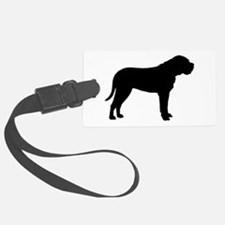 bullmastiff black.png Luggage Tag