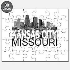 Kansas City Skyline Puzzle