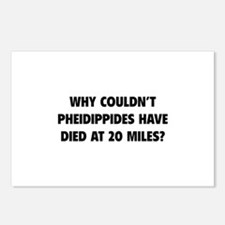 Pheidippides Miles Postcards (Package of 8)