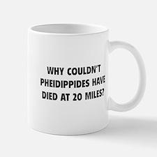 Pheidippides Miles Mug