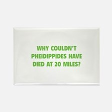 Pheidippides Miles Rectangle Magnet