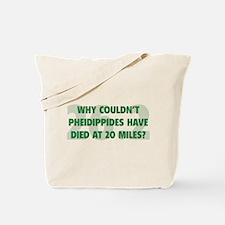 Pheidippides Miles Tote Bag